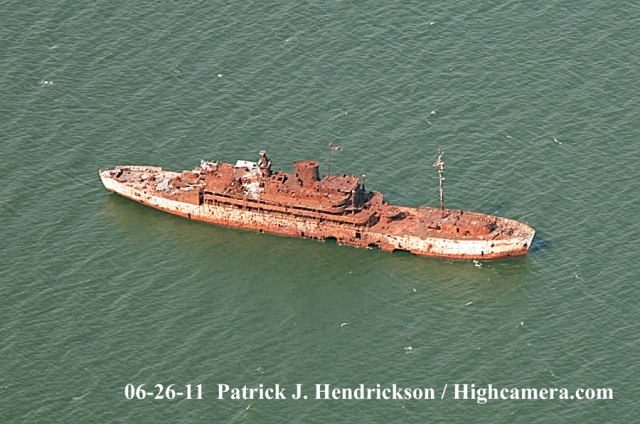 Aerial photograph of >USAS American Mariner